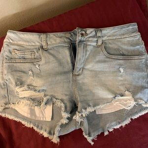 Victoria's Secret cutoff denim shorts